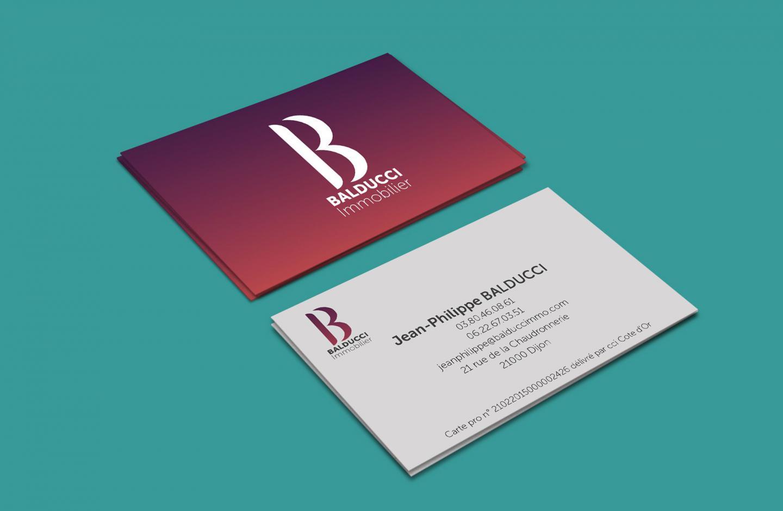 Carte De Visite Balducci Imobilier