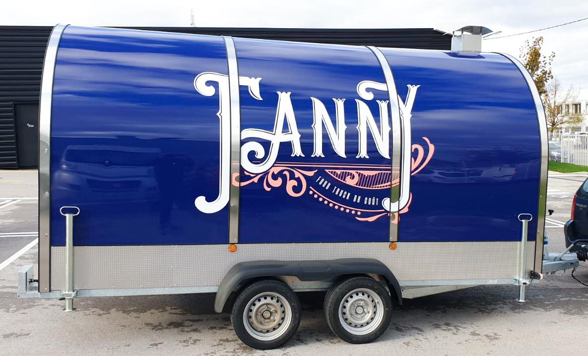 Flocage véhicule de Fanny