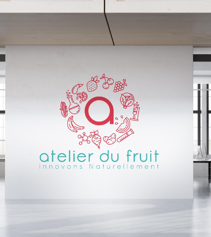 Atelier du fruit mur blanc