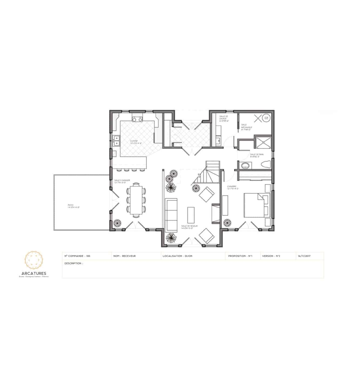 Design de plan pour Arcatures