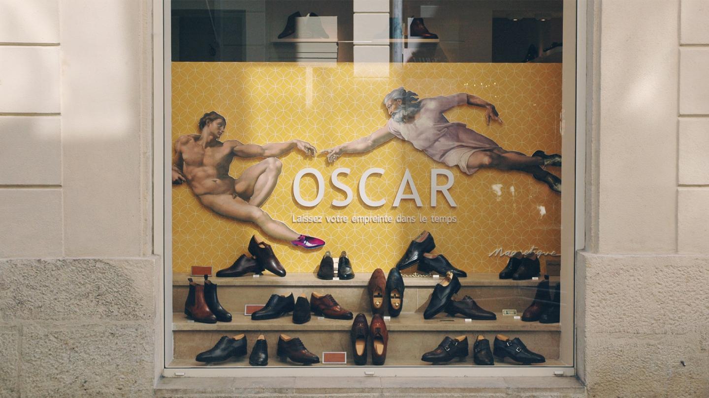 Vitrine Oscar centrale septembre 2016
